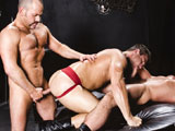 gay porn Hunter Hunted - Part 2 || Two daddies take control of their bottom boy who wants more.