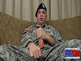 gay porn Gripping Tightly His S || His Slightly Furry Chest Swells With Each Stroke and the Tattoos Seem to Dance With the Movement of His Arm. Leaning Forward Against the Back of the Couch, This Sexy Soldier Starts to Play With His Hairy Little Ass.
