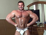 Frank Defeo Huge Powerlifter ||