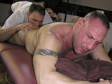 gay porn Rocco Rocks || We think Rocco rocks not only because he is so hot with that mature muscled body but because Rocco is old school.  He is an old school Italian New Yorker like something out of a mafia movie. He has this bad boy edge to him while at the same time being a protector.