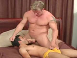 gay porn Cameron Fucks Reed - P || Sometimes it's nice to have a little foreplay, other times you just want to get down to business! Cameron Sage is thick and blonde, Reed Hartley is lean and dark. It's all grabbing, kissing, stripping, toe sucking, and jock strap pulling.