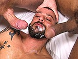 Tim Kruger and Lucio Saints Doublefuck David Avila