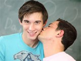 Gay Porn from GayLifeNetwork - Ta-And-Twink-Student-Fucks