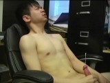 gay porn Zack - First Contact || Zack Is In the Chair Watching Some Porn and Like Most Bi Dudes Has a Boner In No Time.  Once His Cock Is Free of His Clothes I Move In and Grab a Handful and Stroke It.  He Lets Out a Sigh and Tilts His Head Back Because He Knows Only Another Guy Can Grab His Dick Like That!