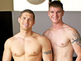 gay porn Boyd And Kaden || Active Duty featured Boyd, a hot new recruit who finally mans up and gives up his perfect virgin hole to none other than gorgeous Kaden Saylor. It took a lot of talking and a lot of convincing, but when he finally committed to it, he was anxious and excited. After the initial chit-chat they start out by admiring each others bodies as they begin to strip down. Boyd seems mesmerized by Kaden's body and they start out with a nice juicy kiss. From there they progress to blowjobs, face-fucking and then sixty-nine. Next, it's time for the big step. Kaden works his way in as Boyd moans and makes priceless faces. This first timer enjoys it so much that he takes it in two positions before shooting a big load all over himself while Kaden is still inside him!