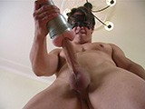 gay porn Huge Cock Fleshlight || During His Photoshoot, Hot Jock Ricky Receives a Fleshlight. It Didn't Take Long for Him to Try It Out and Put His Huge 9 Incher In It !