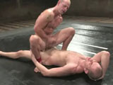 gay porn Patrick Rouge Vs Cole  || Naked Kombat: fighters engage in real combat for three 8-minute rounds, then the winner gets his way with the loser in the final Sex Round. This shoot is the very first time Cole Streets has sex on camera. Tall, slim Cole has little experience with fighting, but his size is a great advantage over his opponent. Patrick Rouge is shorter but more muscular than Cole. This tough Southern boy has a military background - and he will not let up! Don't miss this rough, nasty battle between these sexual gladiators. Will untested amateur Cole be able to hold out against brawny Patrick?