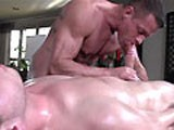 gay porn Gayroom Older Masseur  || Gayroom Older Masseur Rubs and Probes Big Dick Youngster