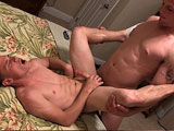 gay porn Colton And Nick Gunner || Active Duty's new recruit Colton returns for round two as he crosses the link with sexy little Nick Gunner. Nick doesn't waste any time and quickly starts to service Colton as the sexy straight newbie just sits back and enjoys the attention. Colton goes even farther for his first time, and pounds Nick Gunner's tight little hole in a couple of positions while they exchange some dirty talk. Nick explodes on himself while his hole is stuffed full of Colton's cock, and then sucks Colton to completion with gusto! Don't miss this one!
