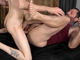 gay porn Dee Fucks Bare || When One of the Guys Doesn't Show Up, Pledgemaster Franco Has to Improvise, and What Was Supposed to Be a Blindfolded Double Jack-off Session Becomes Dee's First Gay Bareback Sex Experience.