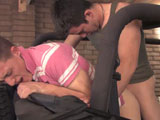 gay porn Chris And Ricki - Part || Chris and Ricki took my jeep out for a ride and I'm betting that it is covered in mud and filth hell there might be a body stashed away somewhere. Ricki is the brunette and he is 21, and Chris is the blonde and he is twenty. The guys are working on ways to make money for college. Well Ricki has a girlfriend to and she is breaking him. They both go to college here, and Ricki is in his third year of criminology, and this is Chris's first year. He is just getting started.