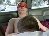 gay porn Cum Showers - Part 2 || We found Aiden walkimg in the rain and offered him a ride. He was hesitant at first but gave in. He didn't want to get more wet then what he was. Idiot! Of course the BaitBus always gets what we want. Then the blind-folds come out and the cock-sucking begins. Nope! It's not Vanessa doing the sucking. It's Alex! He pretty good at it. Come see. Enjoy!