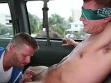 gay porn Get Your Ass On The Ba || Baitbus returns! It's beautiful out today and what else better to do, but look for man ass. We don't mess around. We get what we want. No matter how hard it might seem. Vanessa always works her magic. Every man has a price. No matter how many times they say, No. bet you he won't say no to $2,000. Enjoy!