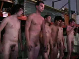 gay porn Warehouse Party - Part || So the guys at one of our favorite west coast fraternity's decided to throw their annual warehouse party. As usual they brought their video camera's along to record the events and plenty of pledges to break in. Man when these guy's break in pledges they really break them in...lol. You got all the makings of a good hazing in this one :screaming, push-ups, jumping-jacks, dick sucking, and tacky outfits. You won't want to miss this one. Don't forget to check out the trailer by &amp;quot;Uncle Knuckle&amp;quot;.