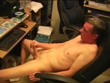 gay porn Buck - First Contact || Buck Is an Older Dude With a Long Lean Body and Long Lean Dick to Match.  Before I Even Get the Camera Rolling He Has His Cock Out and Starts Pumping to the Porn He's Watching.  I Sit Beside Him and Play With His Nipple and Then Grab That Hard Cock and Give It a Good Pump.  He Starts Talkin Dirty About Getting Fucked In the Ass and Shoots a Massive Load All Over His Belly.
