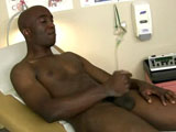 gay porn Officer Jackson Again  || Dr.Phingerphuck was on his way out of the office to finally get some peace and quiet from all the hustle, bustle, and orgasming young men that would come into his clinic. Thankfully the campus provides night watchmen to watch over all the expensive equipment that the clinic stored. Just as he was about to leave in came one of the very security officers, Officer Jackson. After a brief exchange of words Dr. Phingerphuck was on his way out. Which left Officer Jackson to get into all sorts of mischief. He loved going into the exam rooms to pop a load. He was getting hard just thinking about now as he rubbed his dick through his pants. He undressed, laid on the exam table, and began to play with his fattening cock. Stroking up and down surrounded by medical equipment was turning Officer Jackson on so much. He imagined the doctor walking in on him and just doing all sorts of things to his precumming pole. Jackson felt his dick tingle and he began to shoot, he laid back enjoying the warmth of his cum on his stomach. Smiling to himself all he could think was how much he loved his job.