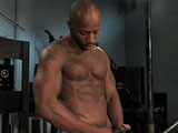 gay porn Race Cooper || I approached my buddy Race Cooper at the gym and challenged him to be on ButtMachineBoys. Though Race rarely plays with toys he is extremely competitive so he has to say yes. After stretching out his tight hole, Race is ready for the beautiful Lighthouse. This machine is an antique and it has a large acrylic probe. It takes Race a little time to get used to the unforgiving hard probe. It doesn't take long before he screams for it to go faster. He then jumps on the Black Magic with huge dildo attachment. This one goes fast and deep. The Black Magic pounds Race into submission and that puts a smile on my face.