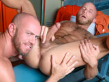 gay porn Dirty Sexy Jocks || High Performance Men is pleased to present Matt Stevens &amp;amp; Drake Jaden in DIRTY SEXY JOCKS. This is Matts first time appearing at HPM and the pairing of these two came to fruition when Drake introduced us to Matt in hopes he could shoot with him. Both have a fetish for locker rooms and jock straps, so it was a no brainer to pair them up. The two begin with a deep passionate kiss that is aggressive and soft all at once. Soon their clothes come off to reveal both of their beautiful asses framed by their jock straps. Matt is soon on his knees taking Drakes massive cock all the way down his throat. His sucking skills are impressive and by the sounds Drake makes, he approves. Drake then returns the favor and deep throats Matts cock before turning him around and sticking his tongue deep into Matts ass. Matt grinds his ass on Drakes face and love every moment of the rim job. Matt then puts Drake on his back and buries his face deep into Drakes ass. He rolls him up as he tongues his ass deep and as he does so, Drake is sucking the end of his own cock for some hot auto-fellatio action as he tastes his own pre-cum. Matt then drives his cock deep and hard into Drakes ass and fucks him hard. Drake then puts Matt up against the lockers as he drives his huge cock deep inside Matts beautiful ass. Matt loves every moment of Drakes cock in his ass and then lies on his stomach as Drake pile drives his ass even deeper. Unable to hold back any longer, Drake pulls out and Matt flips over to take Drakes load all over this muscled hairy chest. Drake then grabs a glass dildo out of the locker and drives it deep into Matts ass while Matt strokes his cock and sucks the remaining cum out of Drakes cock. He tells Drake to suck his cock some more and he unloads a massive load of cum inside Drakes mouth. Drake lets the cum ooze out of his mouth down Matts cock before sharing the remaining cum in a deep tongue swapping kiss with Matt.