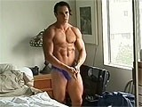 gay porn Cute Bodybuilder Naked || a Sexy Muscle Hunks Posing Nude and Jerking Off.