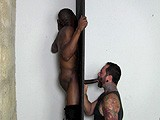 gay porn Lex R At The Gloryhole || Lex R Needs His Giant Black Dick and Balls Drained Regularly, so He Sometimes Uses Anonymous Gloryholes to Get the Job Done.