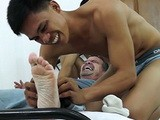 Gay Porn from LaughingAsians - Tickle-Revenge-On-Daddy