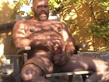 Gay Porn from BearBoxxx - Daddy-Bear-Jacks-Off