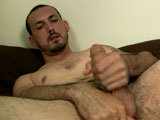 gay porn Geo - Part 2 || He grabbed the lube and just went to work on his hardening cock getting it thicker by the moment as he jerks on it.He looks great kneeling on the bed jerking his cock and showing off his treasure trail. I know that's a trail a lot of us would enjoy working our way down.