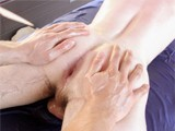 gay porn Gayroom Twink Massage  || Gayroom Flexible Twink Gets Massage Fuck Outside