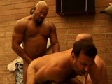 gay porn Black Muscle Cock || Erik Hunter Is a Big Black Muscle Stud With a Thick, 10 Inch Cock. He Walks Into a Sex Party. as Soon as He Pulls Off His Jock, Every Guy Wants That Cock. Erik First Feeds Them Boys Some Piss Then Gets Sucked Off by Scott and Greg At the Same Time. Erik Dumps Two Loads In This Flick, One on Beau's Face and the Other Up Scott's Furry Hole.