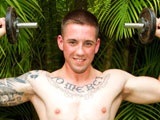 gay porn Smooth Muscle Boy John || Oh man! I love this guy! Sexy Johnny says referring to his rock hard cock as he strokes furiously!