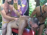 gay porn Boy Craves More Loads || Boy Fillmore Wants Some Man Cock.  a Group of Leathermen Bend His Hungry, Hairy, Well Used Hole Over a Bench and Pump It Full of Big Muscle Daddy Meat and Sperm.
