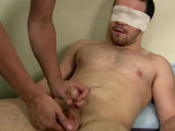 gay porn Nick - Part 1 || Nick wasn't sure what he was in for when he dropped back in for some solo fun. Mr. Hands went right to work blindfolding him. This was going to be a shocking jerk off session for Nick. He has never been jerked off using a FleshLight, so this will be a new adventure.