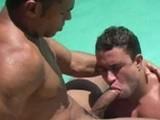 Gay Porn from BrazilianStudz - Poolside-Heat-Ramon-Rodrigo