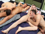 gay porn Mating Season Episode  || With Bradley and Matt out jogging, Fraser, Kai, Josh and Riley are still wrapped up in their sleeping bags. But not for Long - Kai and Josh are soon stroking their hard cocks and teasing Fraser and Riley. Kai and Josh really want a blow job and offer the un-employed Fraser and Riley some cash in return for good head ;-)
