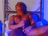 gay porn Muscle Stud Masturbati || a Sexy European Hunk Jerking Off.