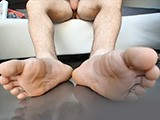 gay porn Hot Jock Shows Feet || Hot Jock Jerks Off While Showing Off His Feet.