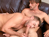 gay porn Straight To The Point || Two hairy studs over 30 with a sexual connection that will drive you nuts. Joe Parker and Jake Jennings couldnt wait to start so we let them get right at it. These luscious men have a strong intimate desire which you can see throughout this sexual encounter. When two beefy guys have this type of sexual tension anything can happen. They move slow, fast, with lots of kissing and rubbing to get it going and once the engines were fully in gear the passion hits full force. If you enjoy hot steamy sex with a deep connection then grab your seat.