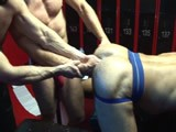 gay porn Pigs On The Fist Table || Fisting Pro Felix Barca Continues His Anal Rampage on Joe Gunn's and Geoff Paine's Asses Before Geoff Steps Down and Gets In on the Action, Double-fisting Joe's Stretched Hole and Rewarding Him With a Stream of Hot Piss.