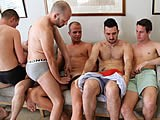 Gay Porn from AmateursDoIt - 6-Way-Exposed-Amateurs-Part-1