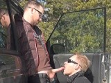 gay porn 4x4 Suck Off - Car Cra || Aaron Crashes the Truck Then Swallows a Giant Load of Cum. Watch the Entire Video and Others Only At Suckoffguys<br />