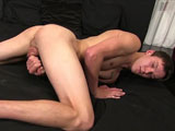 gay porn Introducing Colby - Pa || On his knees, that hole winks at us. At least it looks like it does:-) Colby is ready to bust, so he sits down and strokes away. His toes curl and, with no warning, his pubes and inner thigh get covered in cum. Like a lot of it!