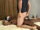 gay porn R108: Lex Bareback || Lex Is a Confident Guy Who Knows Both Women and Men Want His Big Black Dick. He Lets Franco Blindfold Him and Suck His Cock, Then Ride Him Bareback and Take His Load Deep In His Ass.<br />