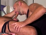 Teddy and Mike Are Both Grown Men, Masculine, Hairy, Big and Sexy. They Like Kissing and Sucking, but Love Nothing More Than Licking Out Their Asses to Warm Them Up for a Non-stop Fuck Session.