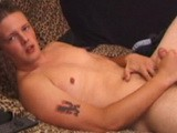 gay porn Boned Up - Law || Law Is Resting on the Bed as He Grabs His Crotch Eventually Pulling Out a Huge Boner. He Lubes It and Jerks It Until He Spews His Load All Over His Chest.<br />