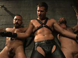 Gay Porn from boundgods - Rogue-Hayden-And-Alessio-Romero