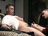 gay porn Blowin' Da Boyz 3 - Ma || Marshall Hasn't Nutted In a While so He Pets My Pussy and We Head to the Bedroom for a Session. the Pants Come Off and I Go Down on Him. His Cock Gets Real Hard as I Suck on It and He Soon Shoots Another Geiser Load.<br />