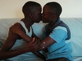 Gay Porn from 80Gays - Black-African-On-Sucking