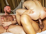 Lucio Saints and Tim Kruger Fucking Sergio Morenos Hot Musclebutt