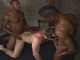 gay porn Anonymous Interracial Breeding || Take That Load and Don't Bitch! How Do You Explain an Anonymous Interracial Breeding Fuck Fest so Hot! Kamrun and Chase Koxx Hookup With Carl Black. Carl Has No Clue Who They Are as He Cannot See. Kamrun Is First Up to Slam Fuck Carl's Ass Raw While Chase Slams Carl's Mouth. Kamrun Busts His Load In Carl's Ass. After He Busts His Load, Chase Is the Next One Up Using Kamrun's Jizz as Lube Until He Adds His Load.