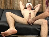 gay porn R121: Ryan Peters || Franco Blindfolds Ryan Peters and Cuffs His Hands Together. Right Away, Ryan Turns Totally Submissive and Does Whatever He's Told. Franco Eats His Ass, Forces Him to Suck His Cock and Fucks His Tight Hole Bareback With His Thick 9-inch Cock.
